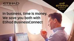 Etihad BusinessConnect rewards both business travellers and companies.