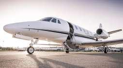 En jet privé à destination de votre port de croisière