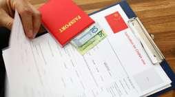 Fingerprints Collection of Visa Application for China